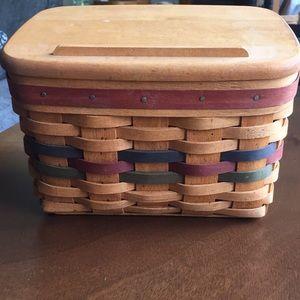 Longaberger 1994 Recipe Basket